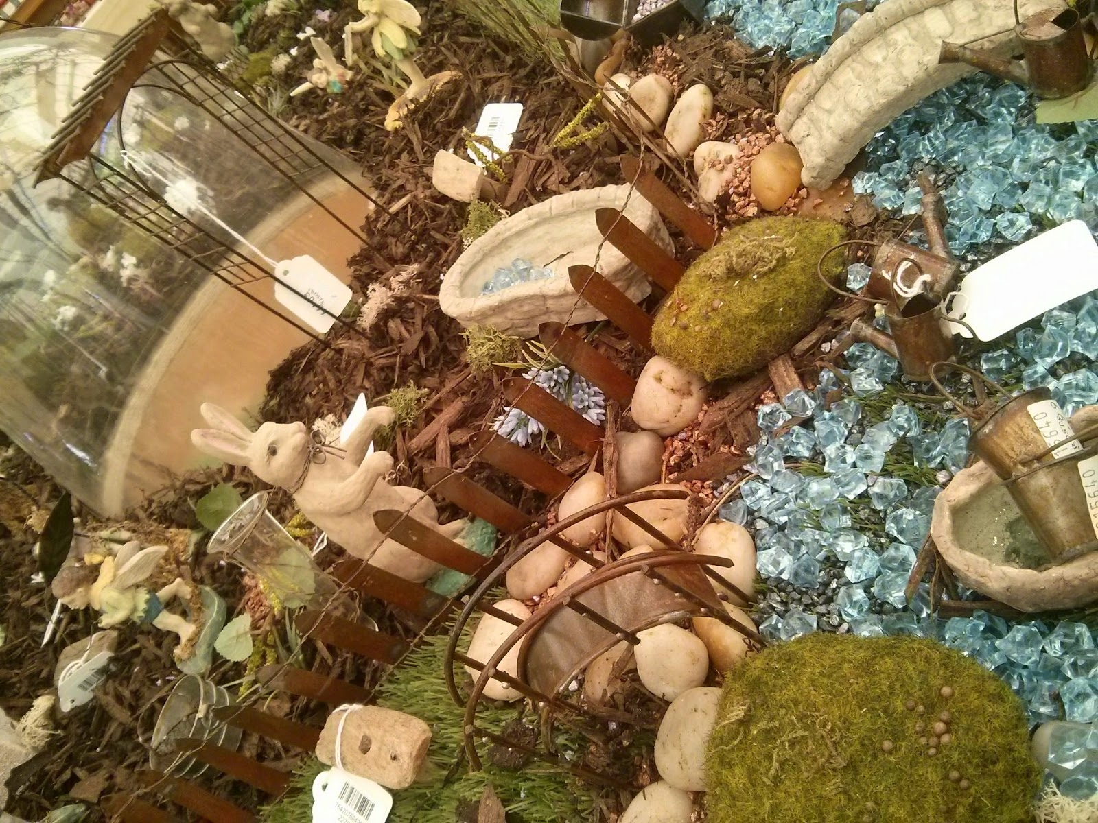 a part of the Fairy Garden