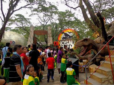 Experience Jurassic World at Dinosaurs Island Clark