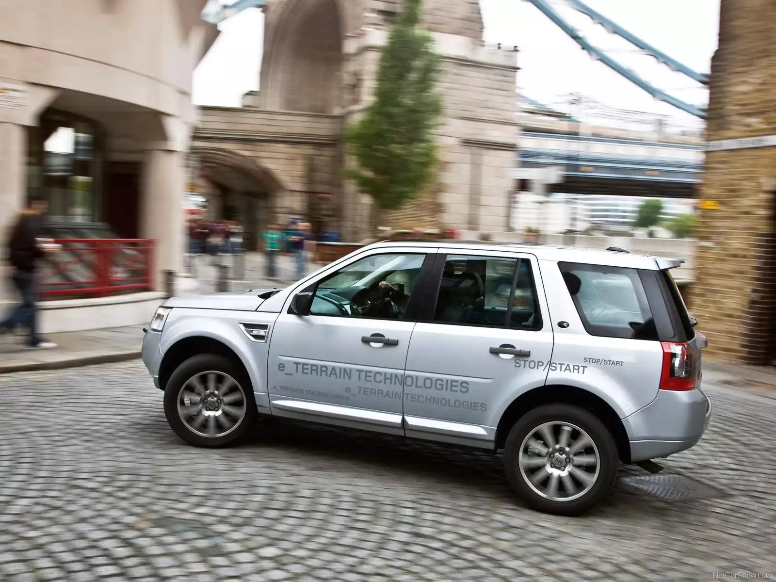 Hình ảnh xe ô tô Land Rover Freelander 2 TD4 e 2009 & nội ngoại thất