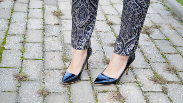 street style - brocade pants - brocado - trend alert - fashion blogger style - topshop pants