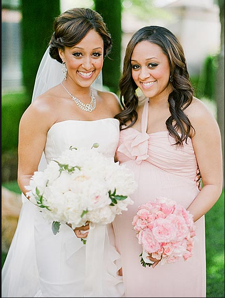 tia mowry wedding pics. tia mowry wedding the game.