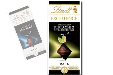 lindt choklad sea salt