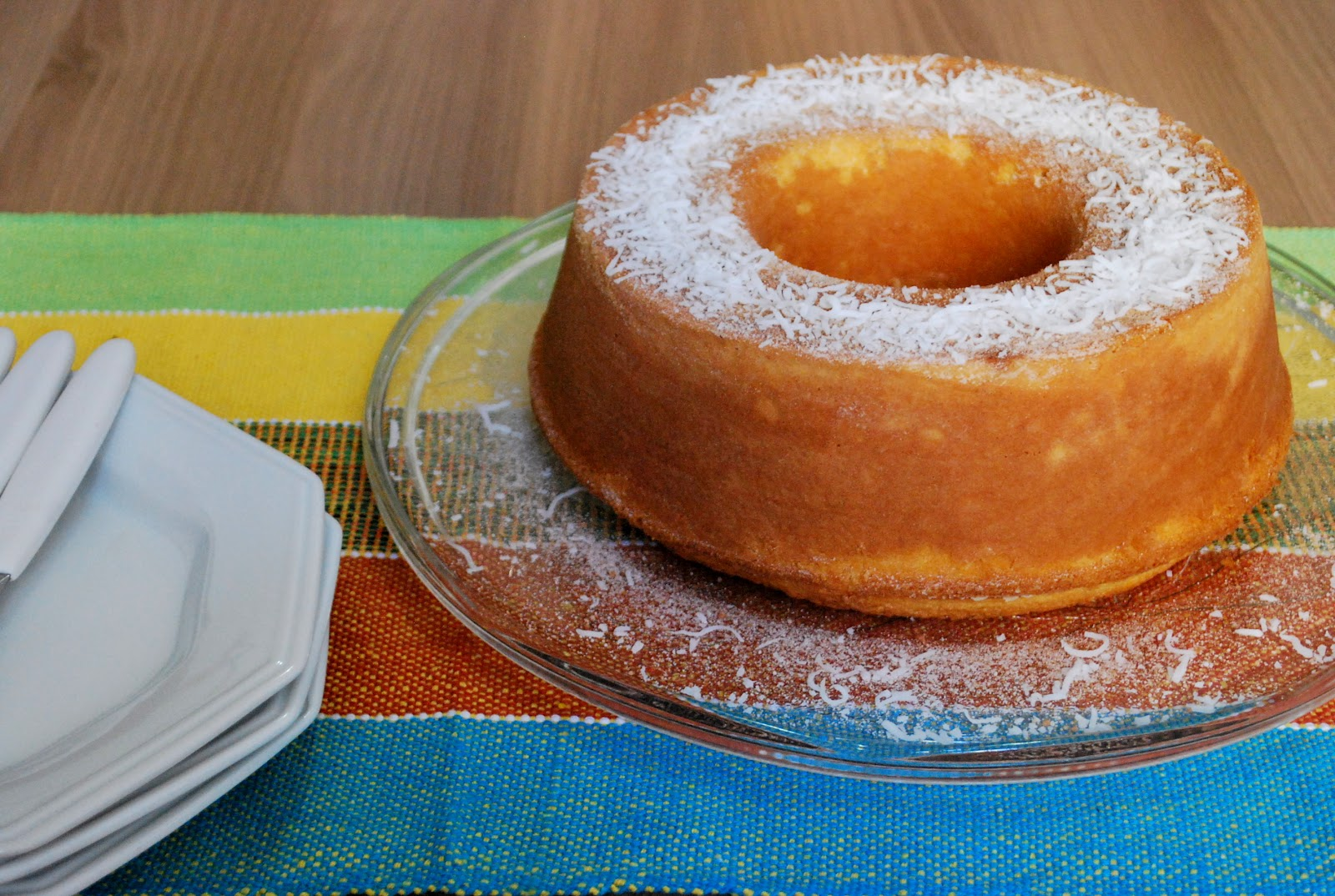cornmeal cake recipe yummly this moist and flavorful cornmeal cake ...
