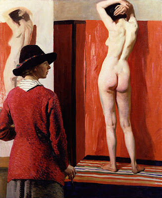 Laura Knight -Self-portrait, 1913