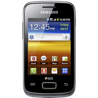 pesifikasi dan Harga Samsung Galaxy Y Duos - Samsung Galaxy Y Duos