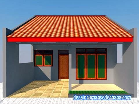 desain rumah 1 lantai - depan a3