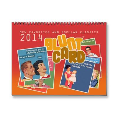 2014 Funny Bluntcard Calendar