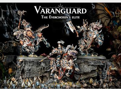 Varanguard Everchosen, los Elegidos de Archaón