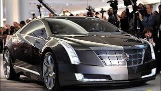 Cadillac Hybrid Sports Car