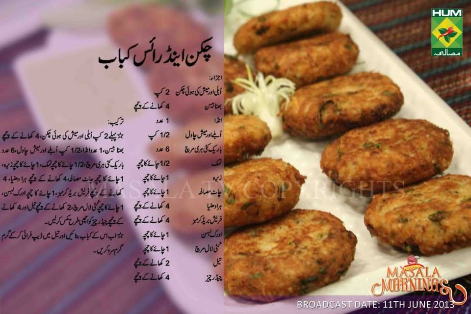 Chicken bread recipes by shireen anwer
