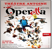Operetta spectacle opéra comique moderne, Théâtre Antoine Strasbourg saint Denis Paris 10ème