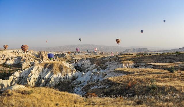 土耳其, turkey, 奇石林, Cappadocia, 熱氣球, hot air balloon