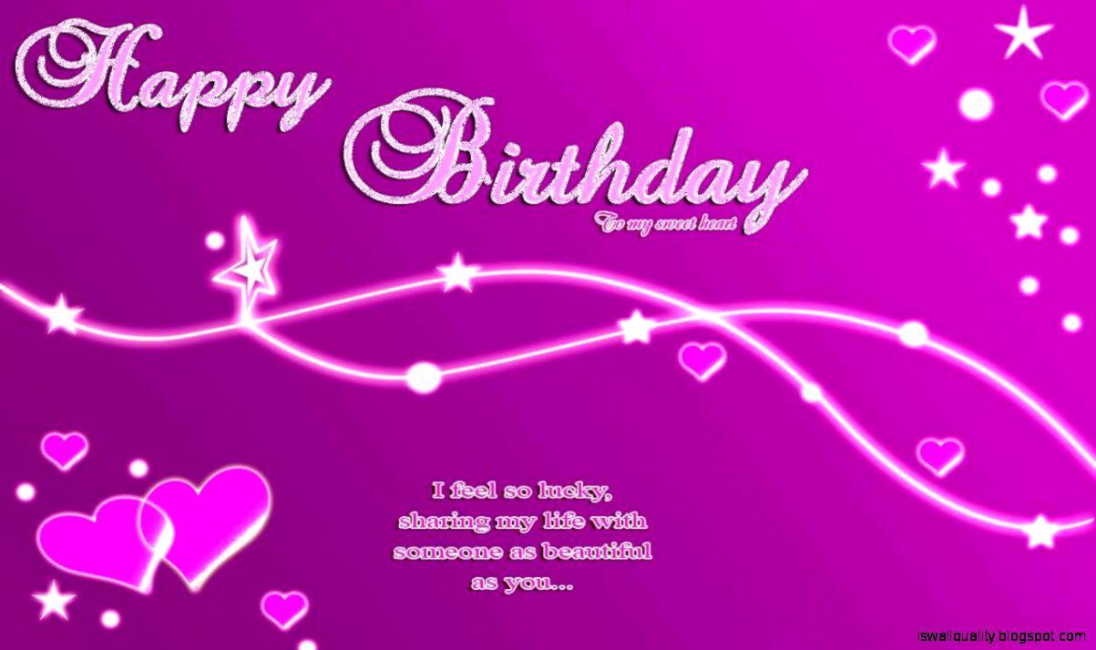 Purple Hd Wallpaper Happy Birthday Hd Wallpaper Wallpapers Quality