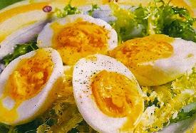 Receta Economica Huevos en Vinagreta