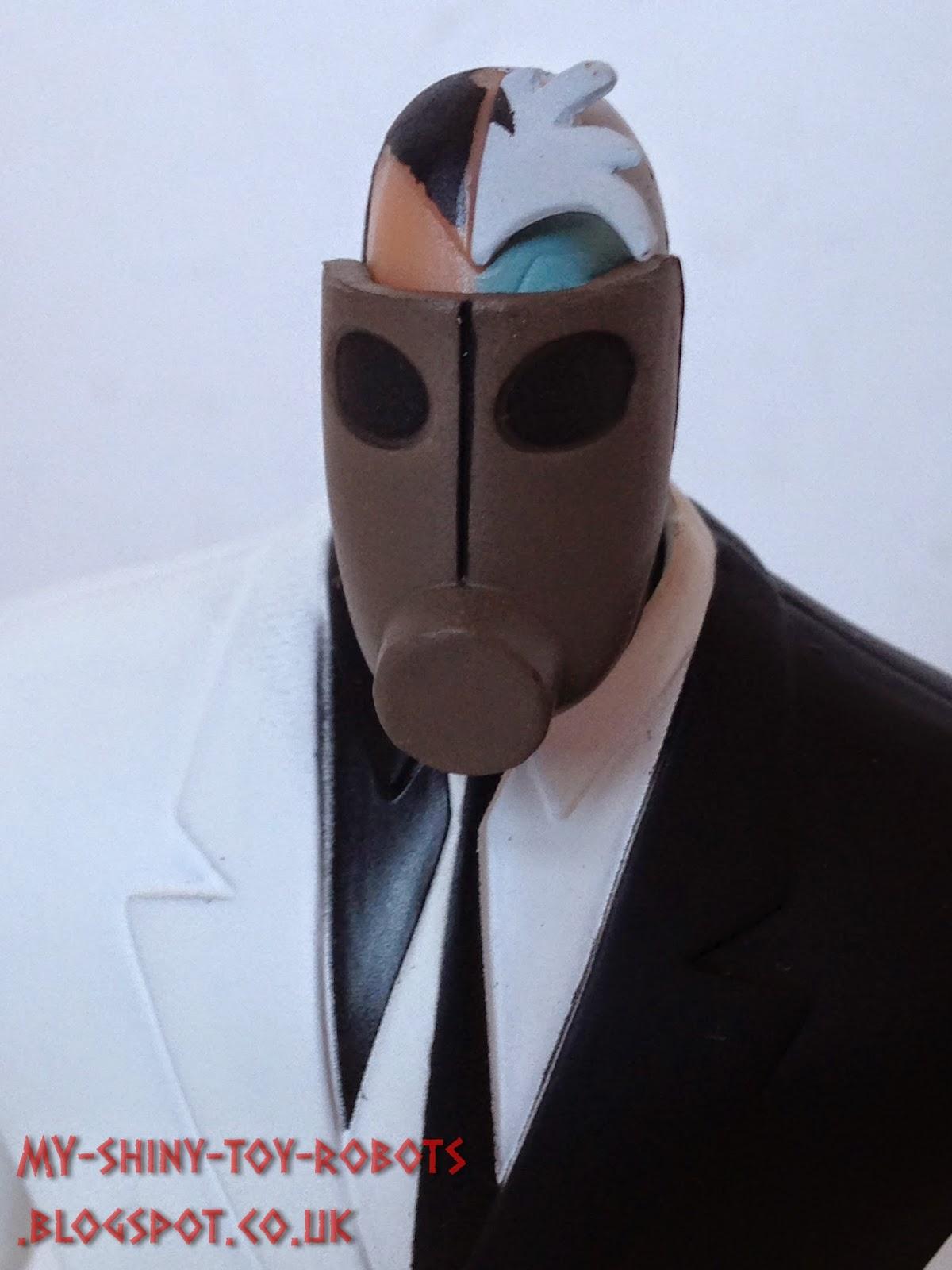 Gas Mask close up