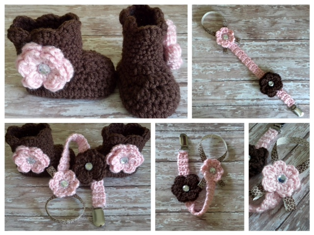 ... cute these crochet items are.They are perfect as Baby Shower gifts