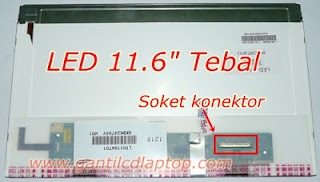 jual lcd 11.6 HD acer aspire one AO751 AO752 AO753