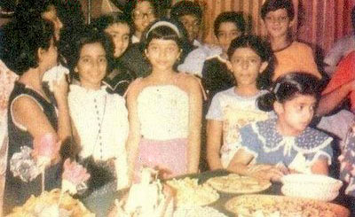 Baby Aishwarya rai & her little friends