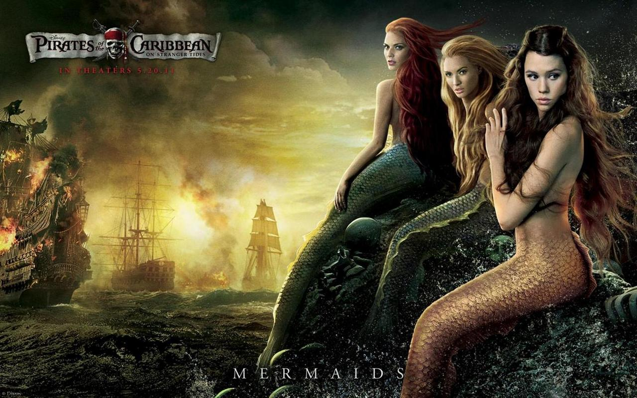 Sexy Mermaids of Pirates of Caribbean: On Stranger Tides | PediaPie
