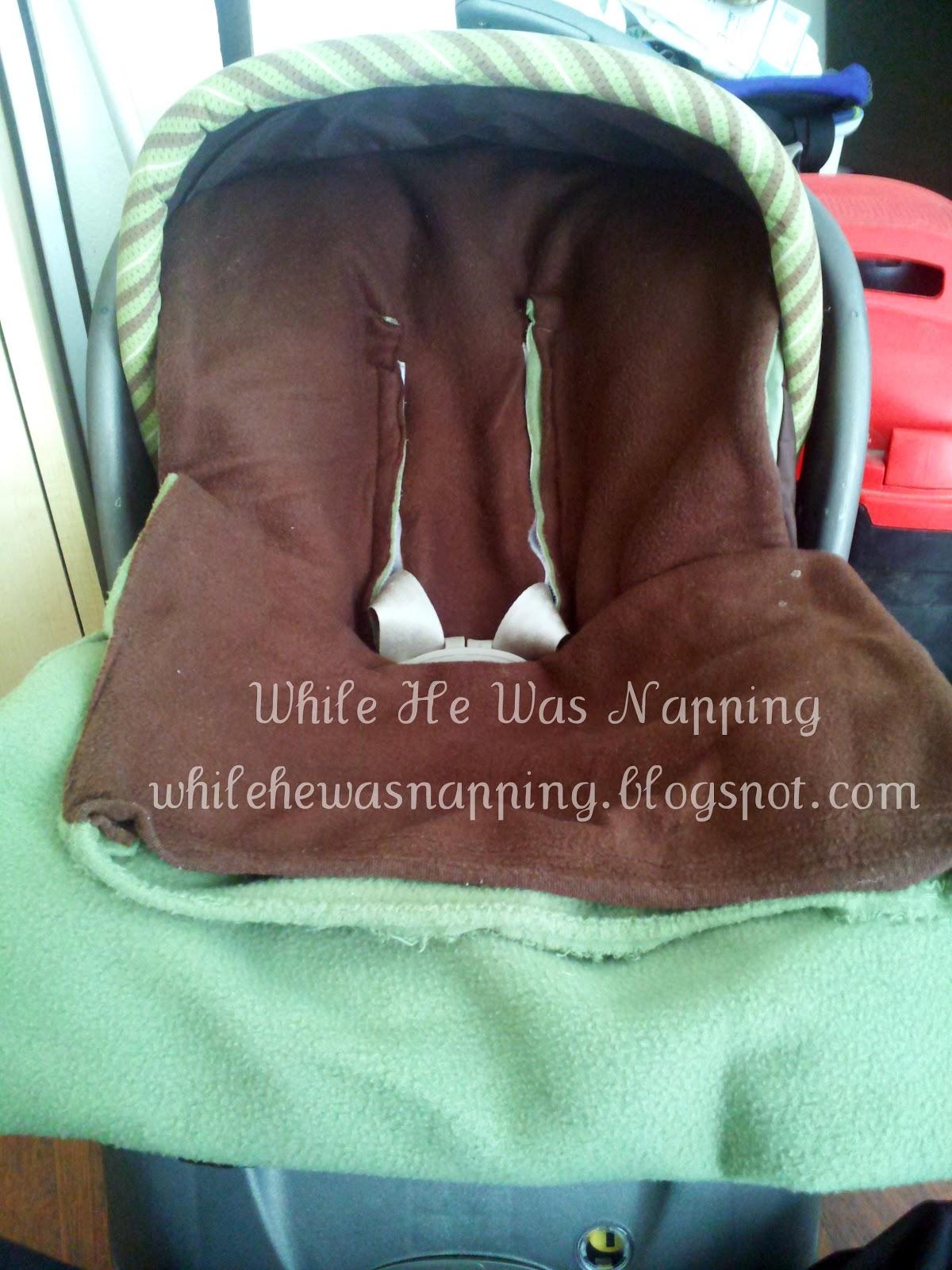 Fleece Car Seat Cover Hyundai Ioniq