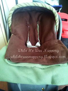 Bundle Me Blanket Car Seat