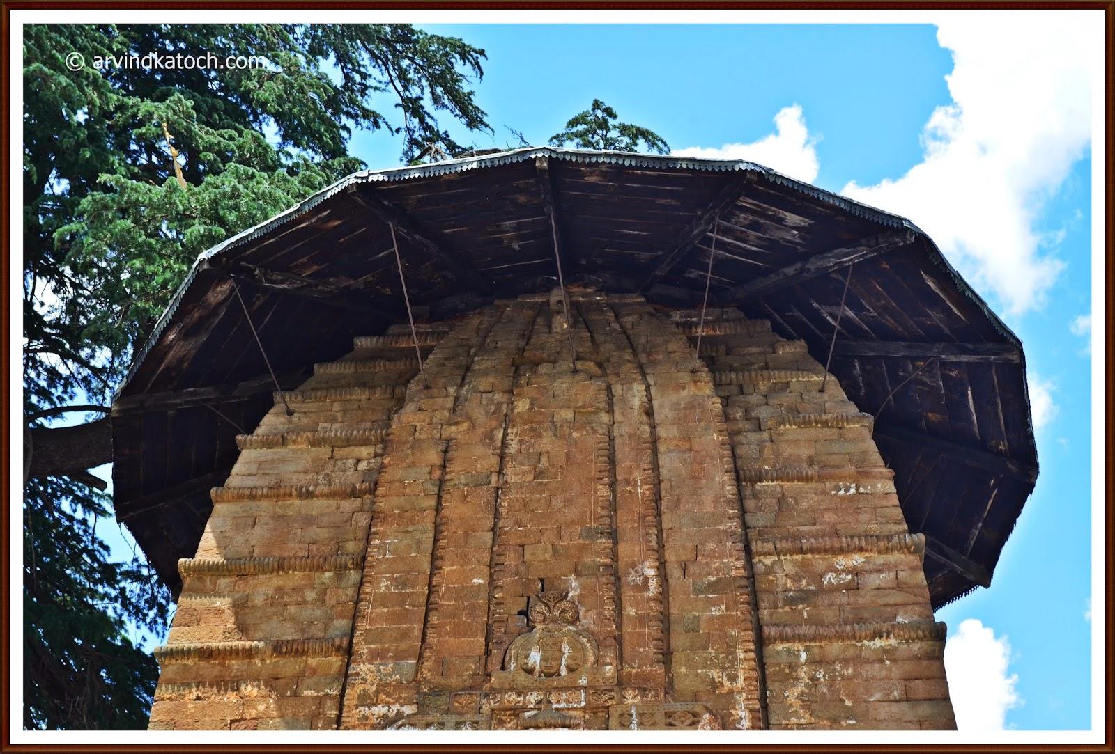 Chamba, Bharmour, Himachal, Temple. Shikara Style