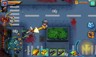 Screenshots of the Angry zombie: City shoot for Android tablet, phone.