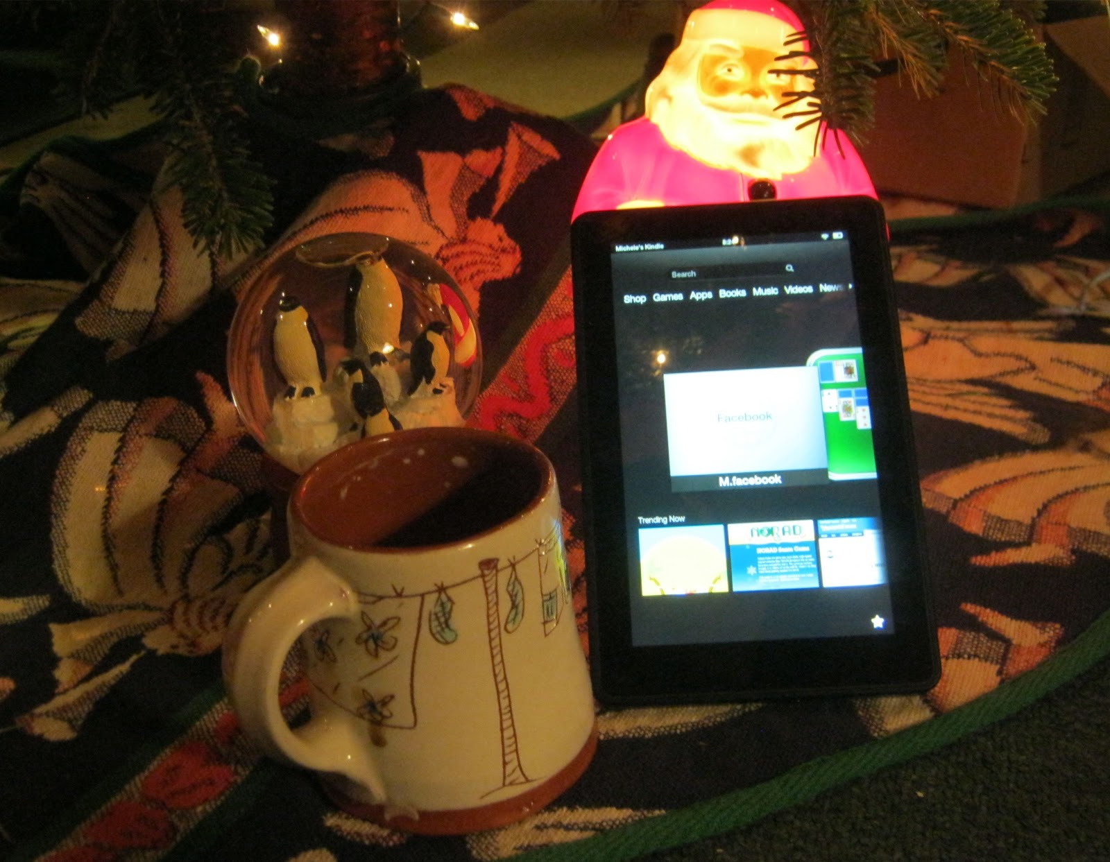how to find a lost kindle fire in your house