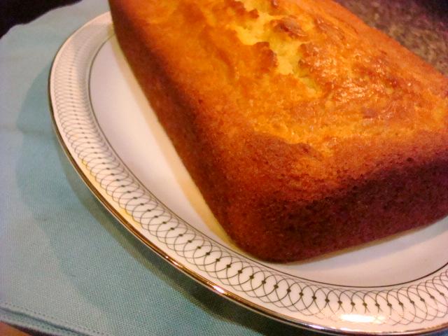 Smoky Mountain Café: Maple Yogurt Pound Cake