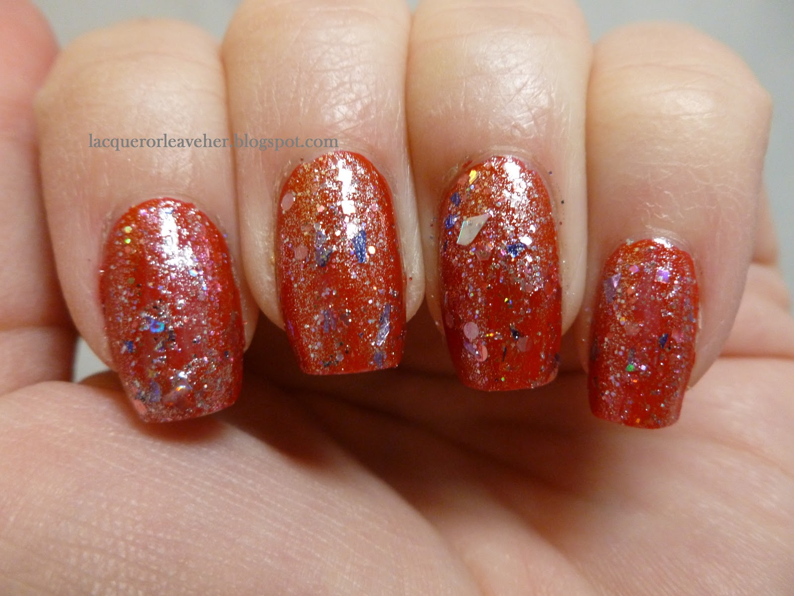 Laquerlicious Queen Crown Over China Glaze With Love