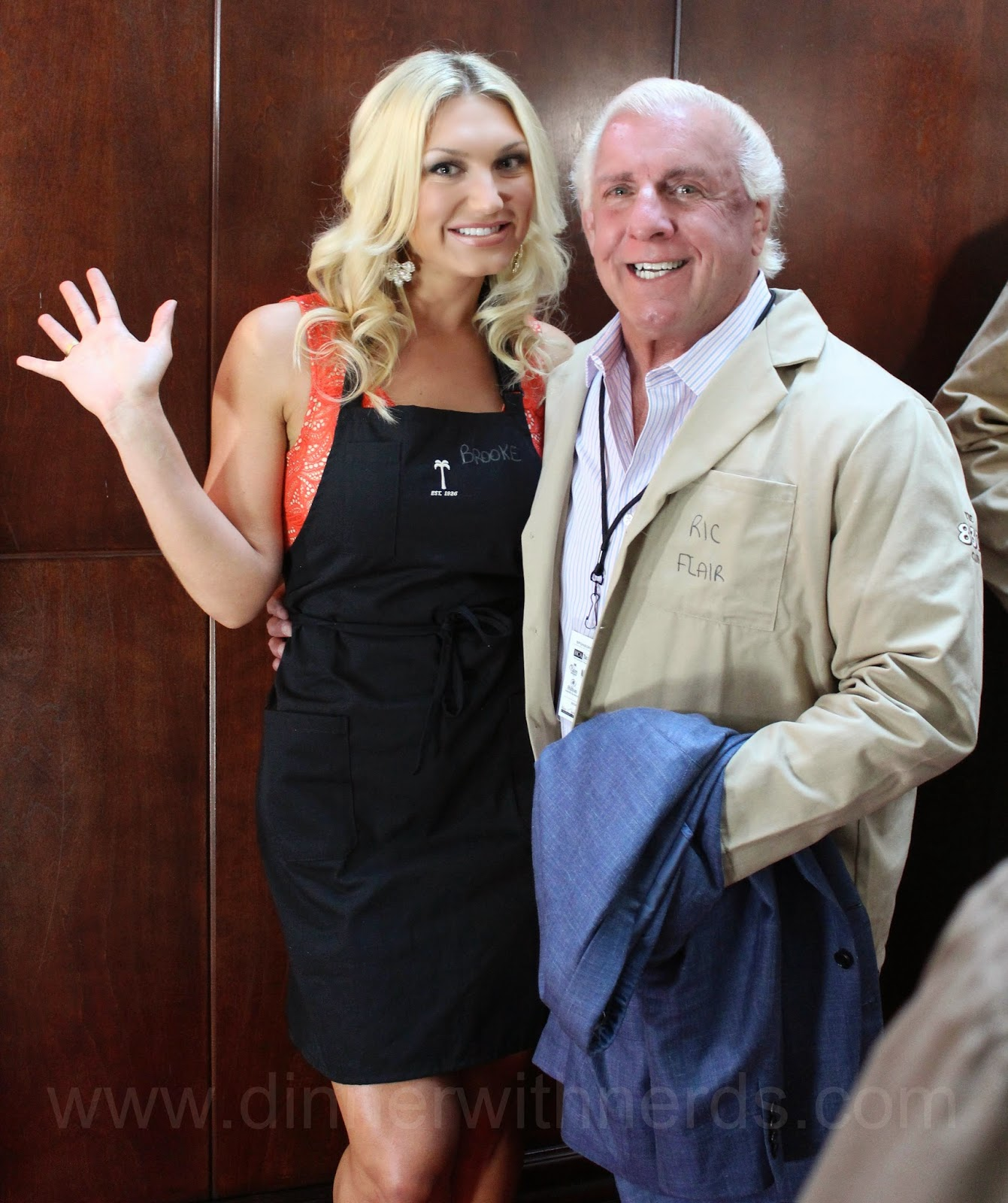 Brooke Hogan Rick Flair