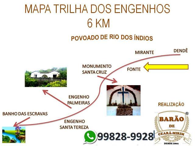 TRILHA DOS ENGENHOS EM CEARÁ-MIRIM