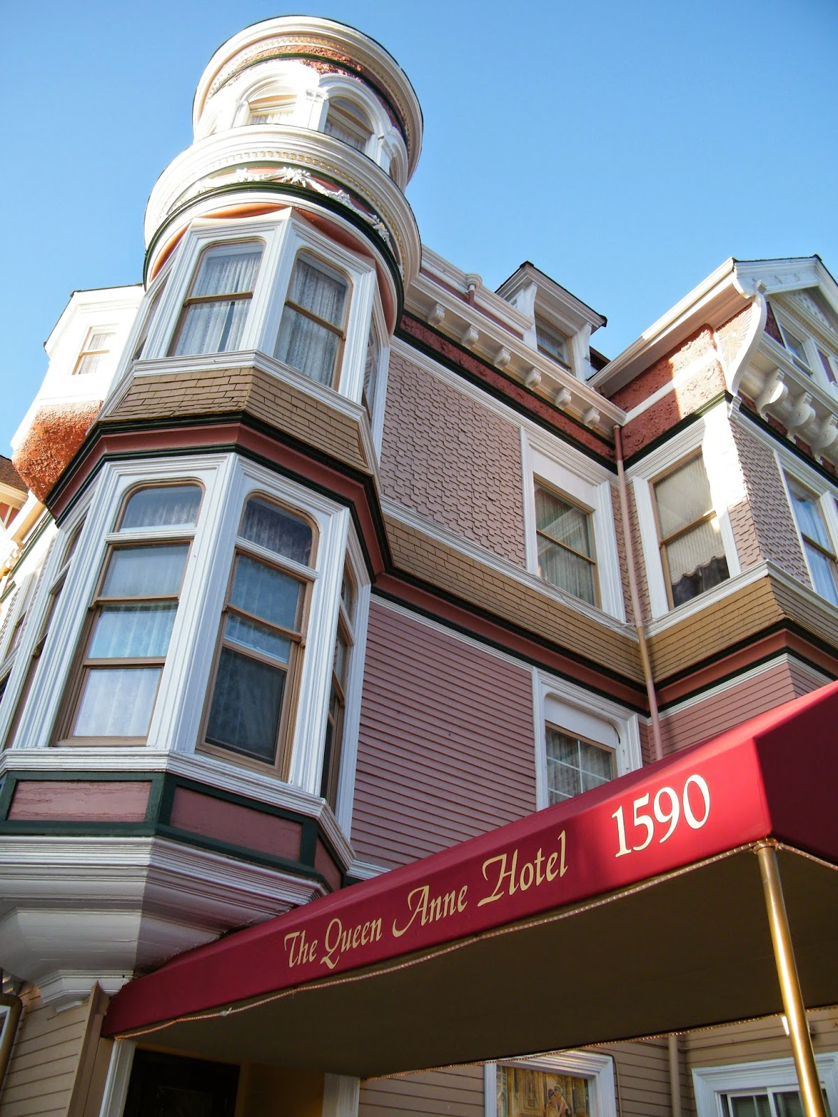 Bed and breakfast san francisco our story inevitably for Unique boutique bed and breakfast