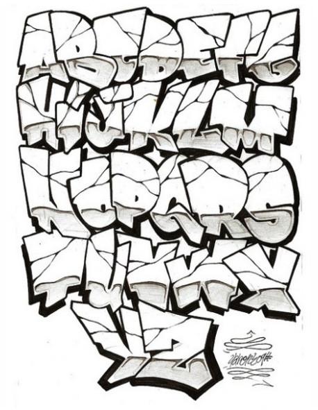 Wiki Graffiti: Graffiti Alphabet