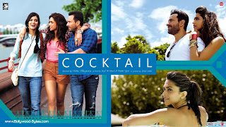 Cocktail HD WideScreen Wallpapers - Starring Saif Ali Khan, Deepika Padukone and Diana Penty