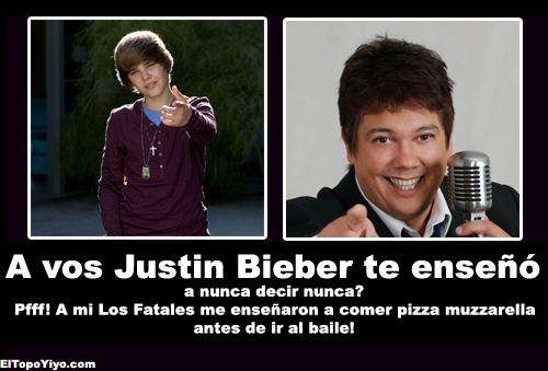 Justin Bieber vs Fata Delgado