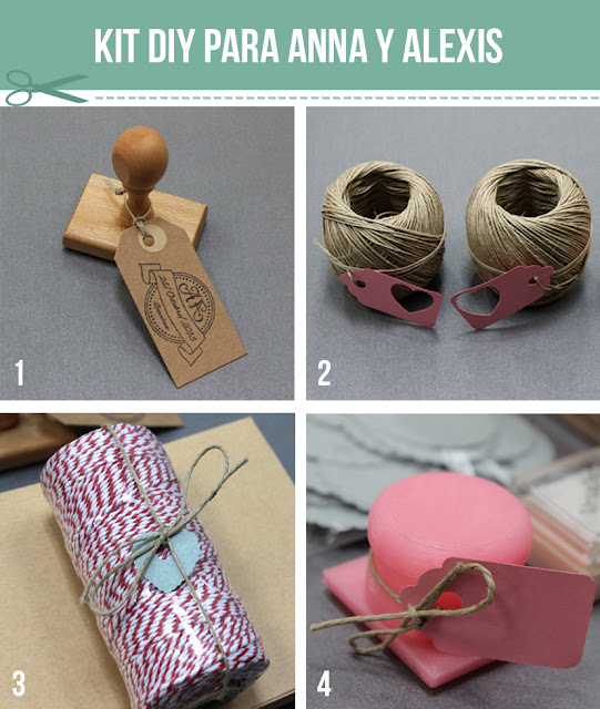 kit craft DIY bodas personalizadas hermanas bolena