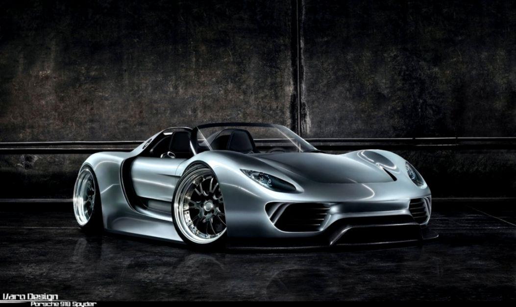 Porsche 918 Spyder Concept Hd