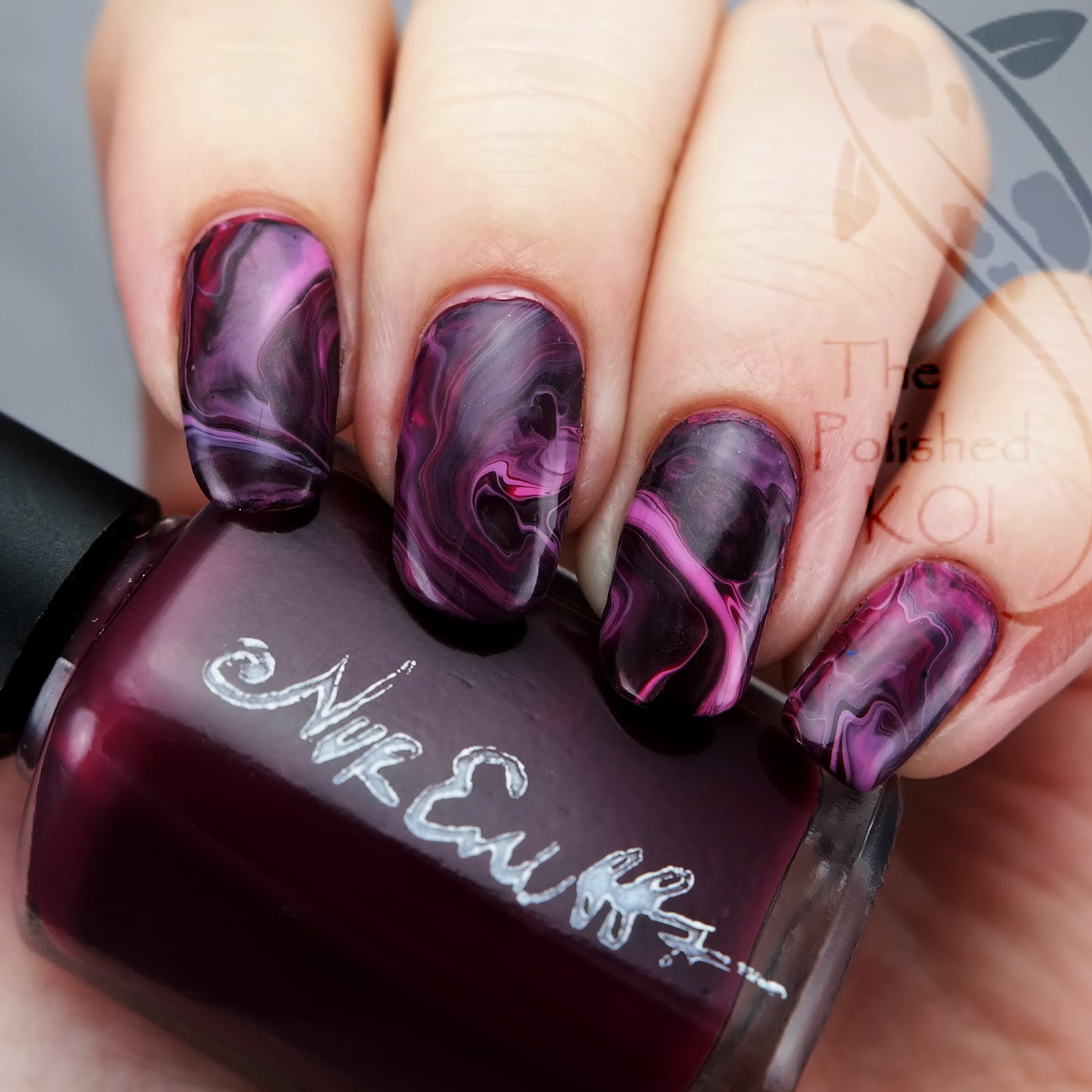 The polished koi swatch art nvr enuff polish berry berry was released a while back as part of a duo the other half is a topper called sparkly and i didnt get it right away but regretted that choice prinsesfo Images