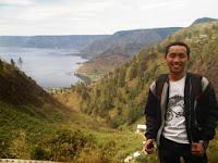 Danau Toba dari Desa Tongging