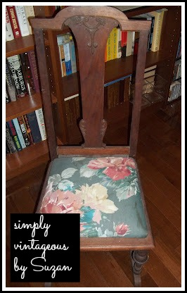 before,after,reupholstered, painted, annie sloan chalk paint