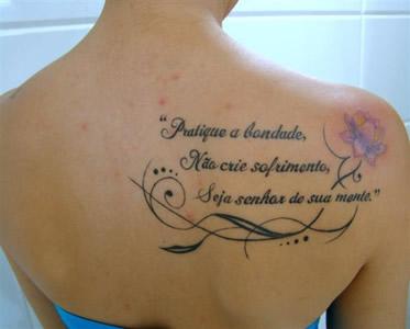 Lindo Tatuagens Femininas De Frases No Braço