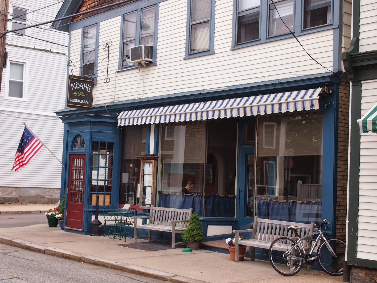 Noah's Cafe in downtown Stonington, Connecticut