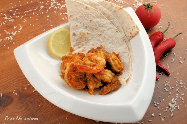 indyjskie curry z krewetek