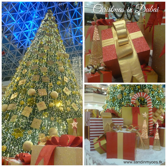 Christmas Tree at Wafi Mall, Dubai