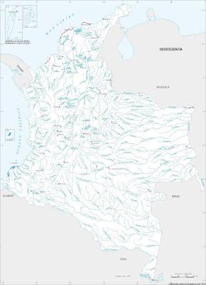 Principales rios de Colombia
