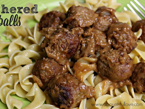 Smothered Meatballs