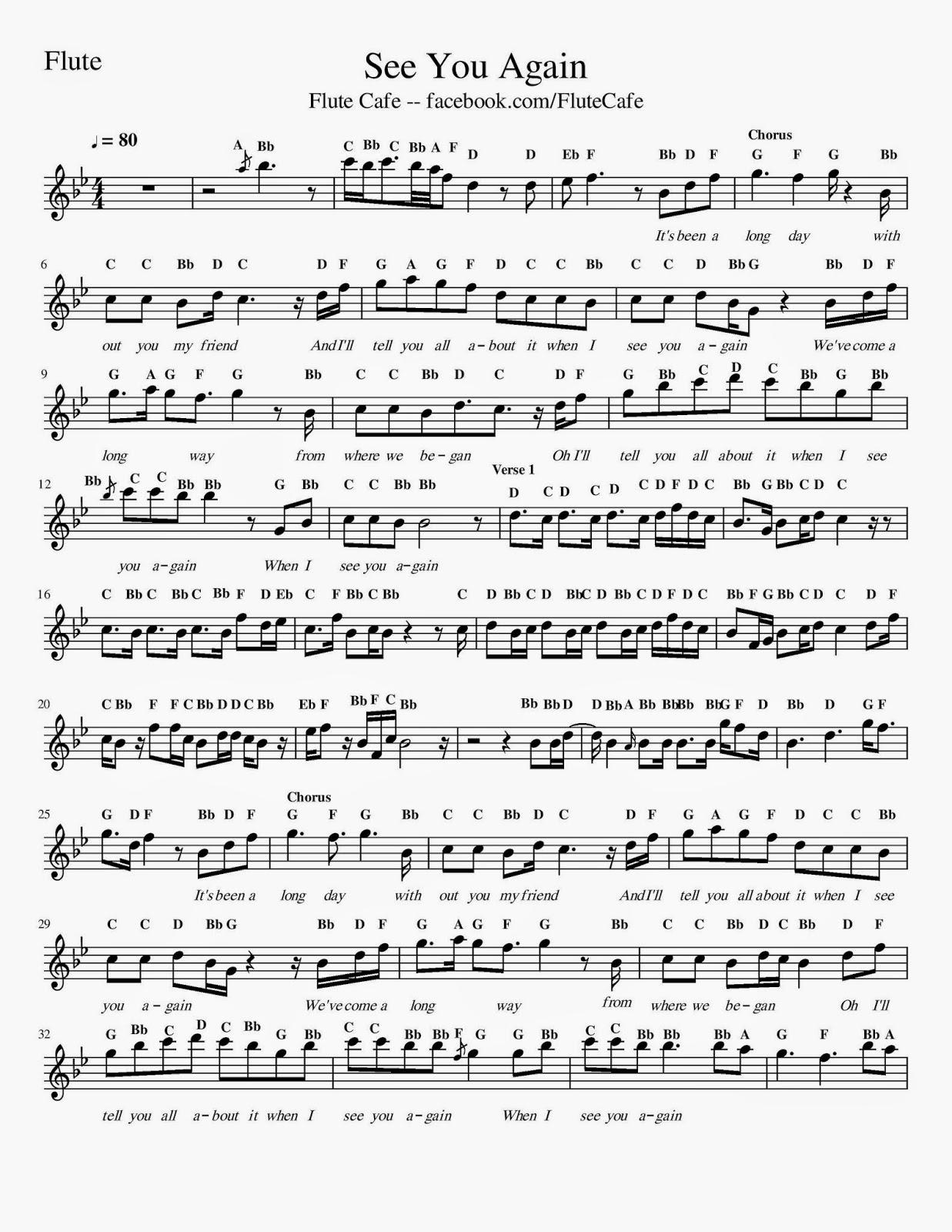 Top Songs - Flute