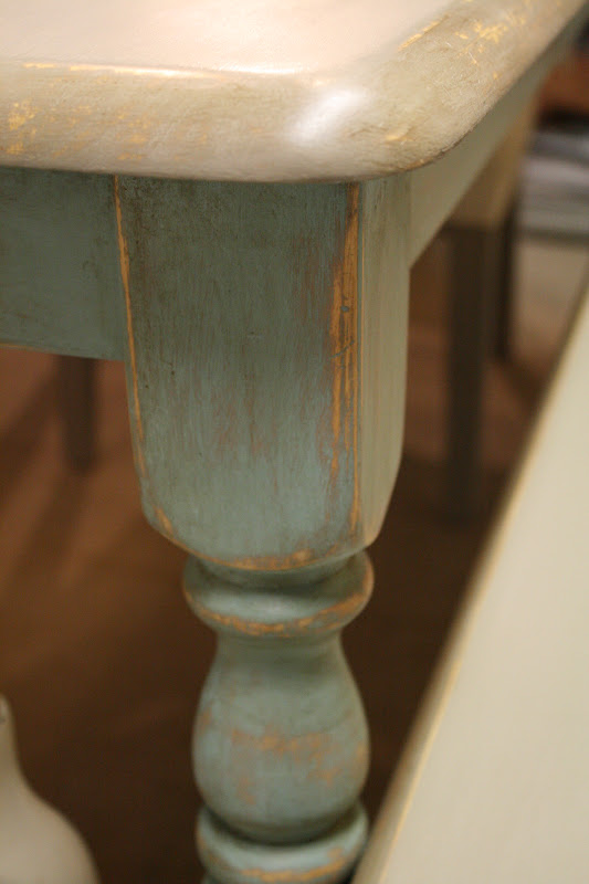 Chalk Paint Protection Kitchen Table Top