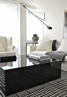 Casa tr s chic pied de poule e pied de coq for Giorgio aldo interior designs